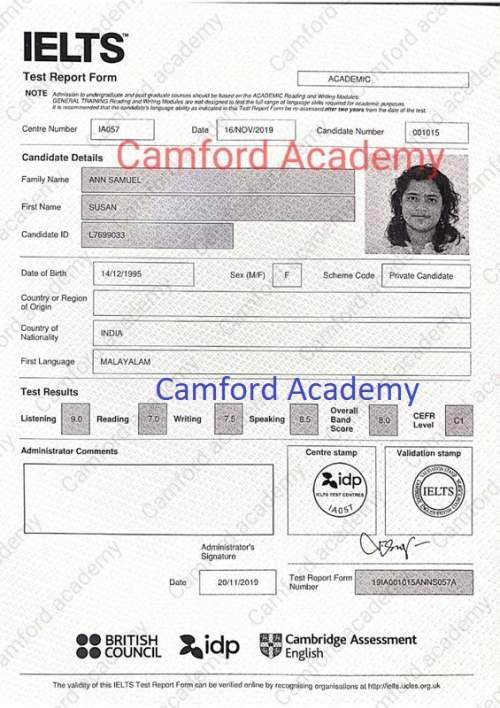 Best IELTS Centre in India: Learn IELTS from Camford Academy